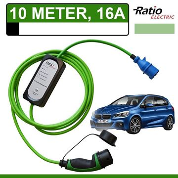 Thuislader BMW 225xe 10 meter CEE