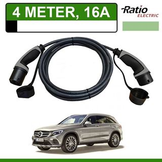 Laadkabel Mercedes GLC 350e 4 meter 16A - Recht (Ratio)