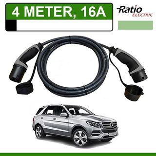 Laadkabel Mercedes GLE 500e Plug-In 4 meter 16A - Recht (Ratio)