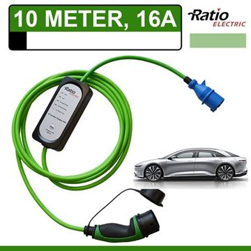 Ratio thuislader Lucid Air (10 meter CEE)