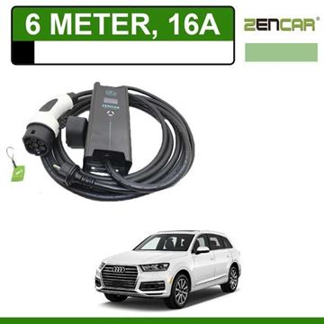 Thuislader Audi Q7 6 meter 16A Shuko
