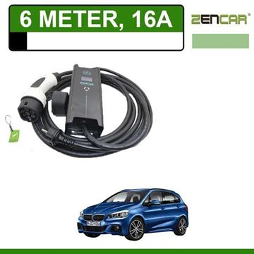 Thuislader BMW 225xe 6 meter 16A Shuko