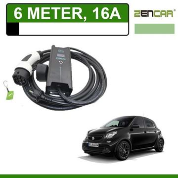 Thuislader Smart Forfour 6 Meter 16A Shuko