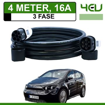 Laadkabel Sono Sion 4 meter 16A 3 fase - Recht