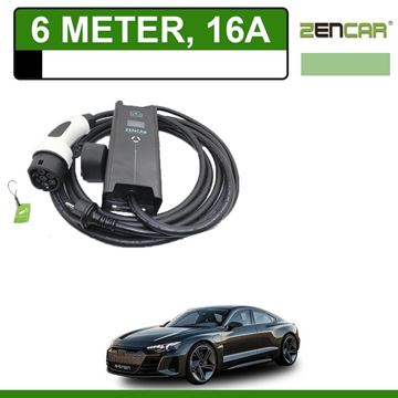 Thuislader Audi e-tron GT 6 meter 16A (Shuko)
