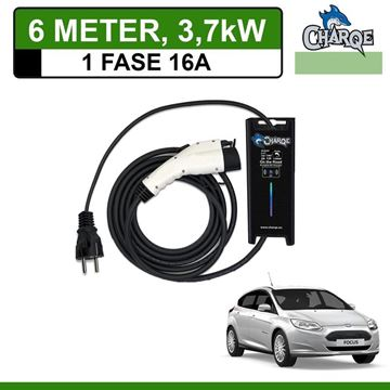 Mobiele lader Ford Focus Electric 6 meter 16A