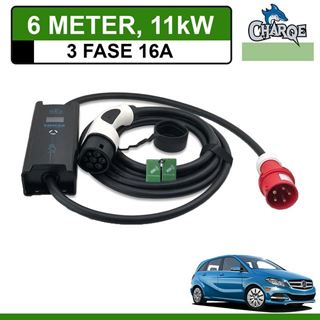 Mobiele lader Mercedes B 250e 6 meter 16A 3-fase