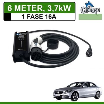 Mobiele lader Mercedes C 350e Plug-In Estate 6 meter 16A