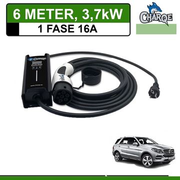 Mobiele lader Mercedes GLE 500e Plug-In 6 meter 16A