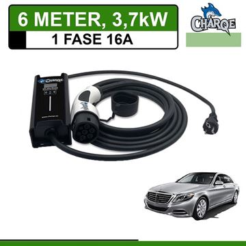 Mobiele lader Mercedes S 500e Plug-In 6 meter 16A
