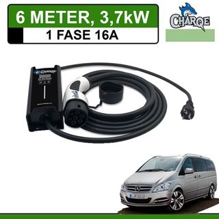 Mobiele lader Mercedes Vito E-Cell 6 meter 16A