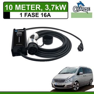 Mobiele lader Mercedes Vito E-Cell 10 meter 16A