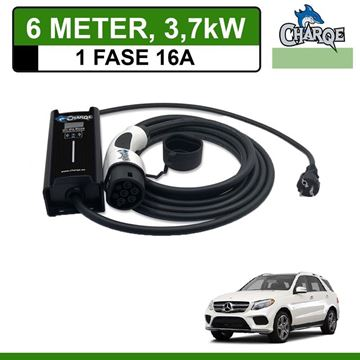 Mobiele lader Mercedes GLE 550e 6 meter 16A