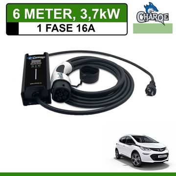 Mobiele lader Opel Ampera e 6 meter 16A