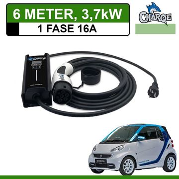 Mobiele lader Smart Fortwo Electric Drive 6 meter 16A
