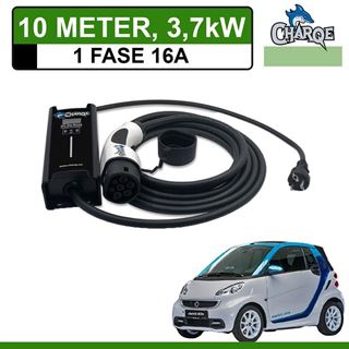 Mobiele lader Smart Fortwo Electric Drive 10 meter 16A