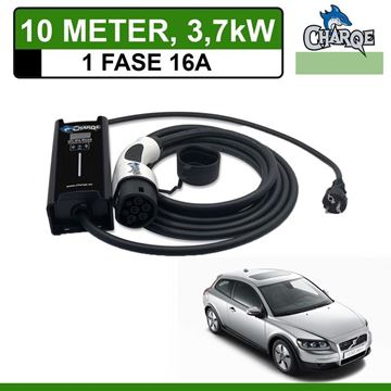 Mobiele lader Volvo C30 Drive electric 10 meter 16A