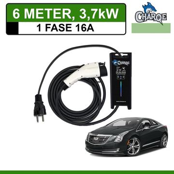 Mobiele lader Cadillac ELR 6 meter 16A