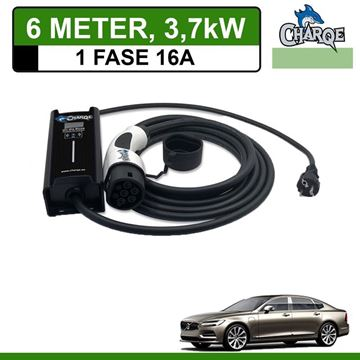 Mobiele lader Volvo S90 6 meter 16A