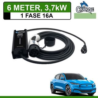 Mobiele lader Ford Mustang Mach-E 6 meter 16A