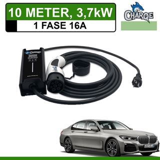 Mobiele lader BMW 745Le X-Drive 10 meter 16A