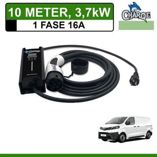 Mobiele lader Toyota PROACE 10 meter 16A